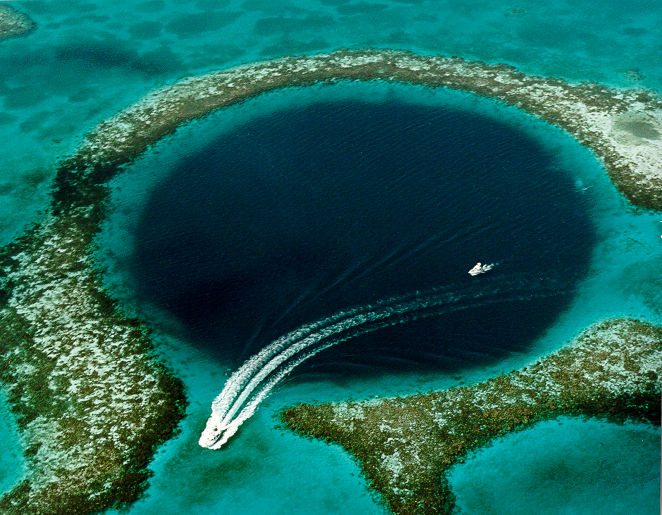 Belize's Great Blue Hole Is Mysterious and Thrilling